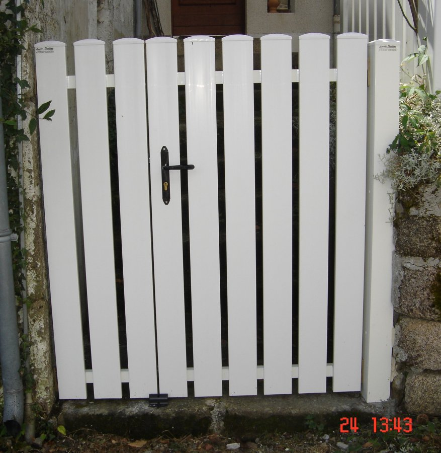 Portillon pvc images de portillons for Portillon pvc
